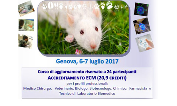 Dare un senso ai metodi sostitutivi alla sperimentazione animale – 3° edizione del corso d'aggiornamento
