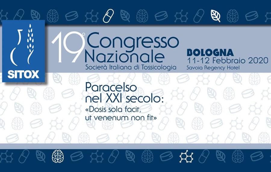 SITOX 2020: 19° Congresso Nazionale della Società Italiana di Tossicologia